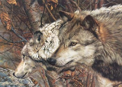 Companions- Signed By The Artist – PaperLithograph – Limited Edition – 18036S/N – 19 1/4x27