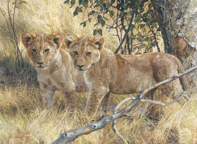 Young Explorers- Signed By The Artist – CanvasGiclee – Limited Edition – 180S/N – 21x29