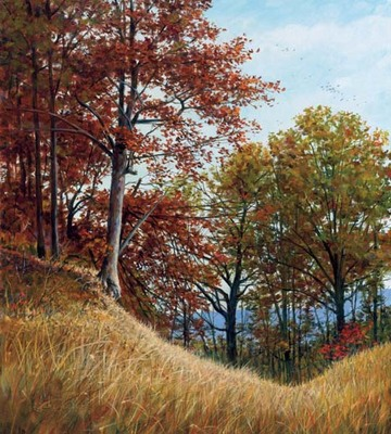 The Forgotten Trail- Signed By The Artist – CanvasGiclee  – Limited Edition  – 180S/N  –  20x18