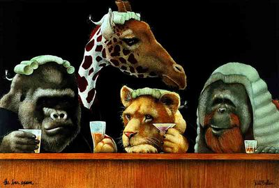 The Bar Exam- Signed By The Artist – PaperLithograph – Limited Edition – 1250S/N – 12 5/8x18