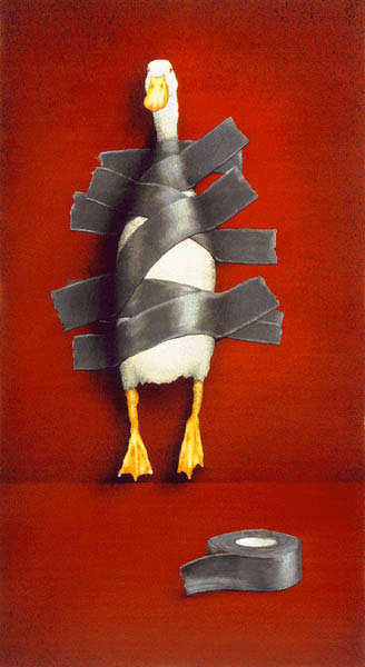 Duck Tape- Signed By The Artist – CanvasGiclee – Limited Edition – 250S/N – 29x16