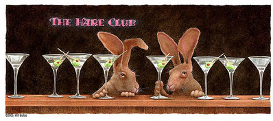 The Hare Club- Signed By The Artist – CanvasGiclee – Limited Edition – 75S/N – 11x28
