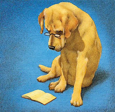 Reading Lab- Signed By The Artist – CanvasGiclee  – Limited Edition  – 75S/N  –  14x14