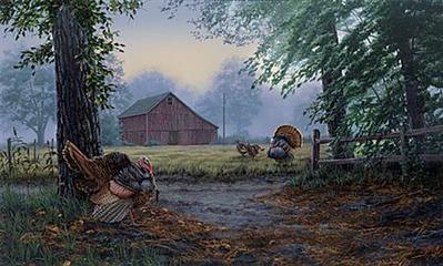 Crossing Paths- Signed By The Artist – PaperLithograph  – Limited Edition  – 500S/N  –  15 1/2x26
