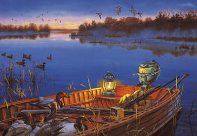Early Morning Traditions- Signed By The Artist								 – Canvas Lithograph – Limited Edition – 195 S/N – 18 x 26