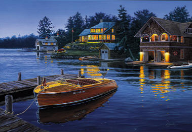 Legends At Bay- Signed By The Artist – CanvasLithograph – Limited Edition – S/N – 17 1/2x26 1/2