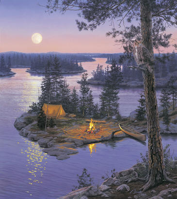 Moondance- Signed By The Artist – CanvasLithograph – Limited Edition – 195S/N – 23x20
