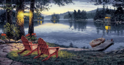 Twilight's Calm- Signed By The Artist – PaperLithograph – Limited Edition – 600S/N – 15 1/4x29