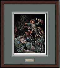 1,000 Hours Til Morning – Framed- Signed By The Artist								 – Paper Lithograph – Limited Edition – 1500 S/N – 37 x 21