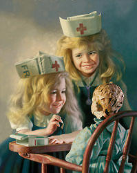 The Doll Hospital- Signed By The Artist – PaperLithograph – Limited Edition – 950S/N – 24x18