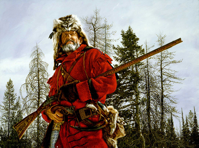 The Mountain Man- Signed By The Artist – CanvasGiclee – Limited Edition – 18A/P – 22x30