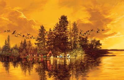 Sunset Reflections- Signed By The Artist								 – Canvas Giclee – Limited Edition – 18 A/P – 21 x 32