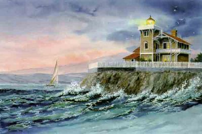 West Wind Blowing- Signed By The Artist – PaperLithograph  – Limited Edition  – 999S/N  –  17 1/2x26