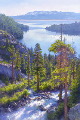 Cascade Of Light- Signed By The Artist – CanvasGiclee – Limited Edition – 50S/N – 60x39