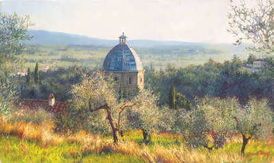 Cortona November- Signed By The Artist – CanvasGiclee – Limited Edition – 125S/N – 9x15