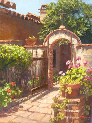Garden Of The Bells- Signed By The Artist								 – Canvas Giclee – Limited Edition – 125 S/N – 12 x 9