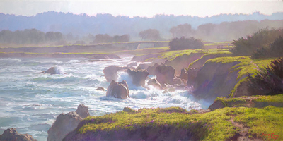 Mendocino- Signed By The Artist – CanvasGiclee – Limited Edition – 75S/N – 12x24