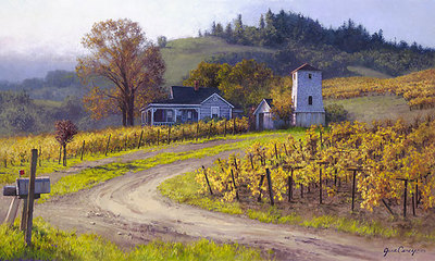 A Taste Of Heaven- Signed By The Artist – CanvasGiclee  – Limited Edition  – 250S/N  –  20x34