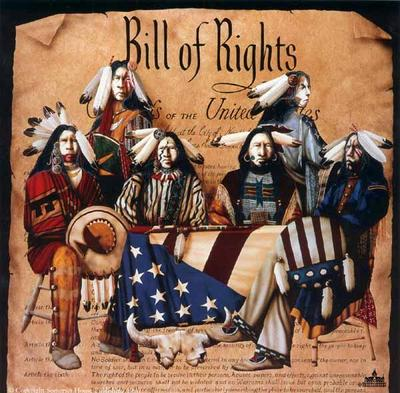 Bill Of Rights- Signed By The Artist – PaperSerigraph  – Limited Edition  – 400S/N  –  33x33  –