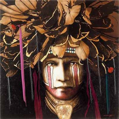 Yellow Knife- Signed By The Artist – CanvasGiclee – Limited Edition – 95S/N – 18x18 –