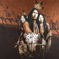 Buffalo Thunder- Signed By The Artist – CanvasGiclee – Limited Edition – 50S/N – 24x20