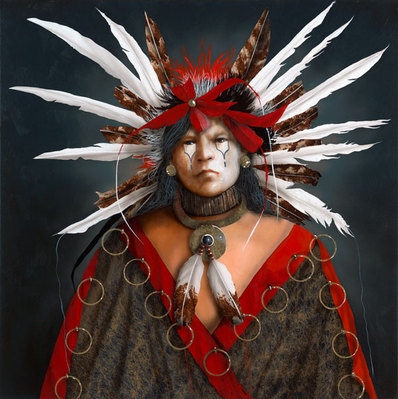 Hears The Eagle's Song Forever- Signed By The Artist – CanvasGiclee – Limited Edition – 95S/N – 36x36