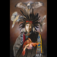 Mystic Healer- Signed By The Artist – CanvasGiclee – Limited Edition – 50S/N – 28x18