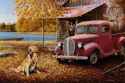 A Golden Autumn- Signed By The Artist – PaperLithograph – Limited Edition – 999S/N – 16x23 3/4
