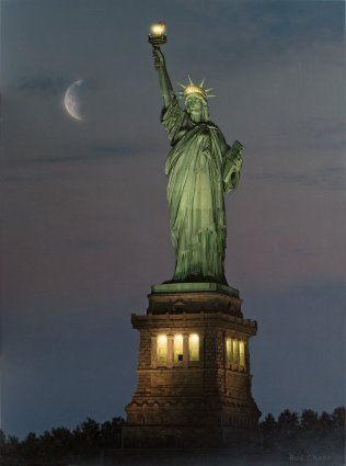 A Beacon Of Hope- Signed By The Artist – PaperLithograph  – Limited Edition  – 195A/P  –  24x18