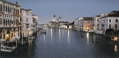Evening In Venice- Signed By The Artist – CanvasGiclee – Limited Edition – 150S/N – 24x48