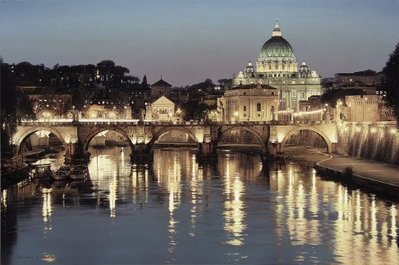 The Glory Of San Pietro- Signed By The Artist								 – Canvas Giclee – Limited Edition – 150 S/N – 30 x 45