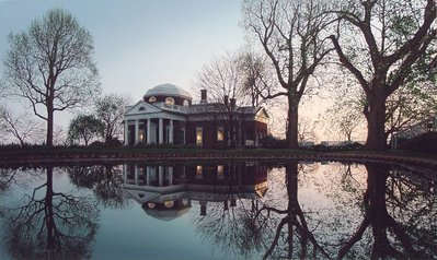 Jefferson's Monticello- Signed By The Artist – PaperLithograph – Limited Edition – 500S/N – 18x30