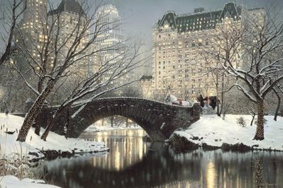 Holiday In The Park- Signed By The Artist – CanvasGiclee – Limited Edition – 750S/N – 24x36