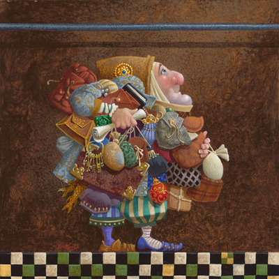 Hold To The Rod, The Iron Rod- Signed By The Artist								 – Canvas Giclee – Limited Edition – 55 A/P – 12 x 12