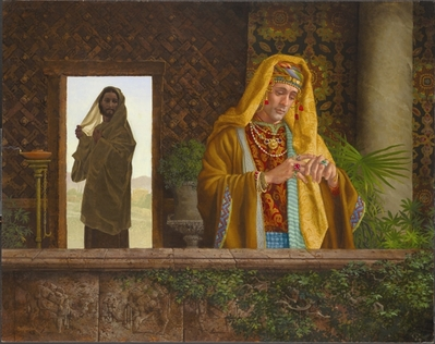The Rich Young Ruler- Signed By The Artist – CanvasGiclee – Limited Edition – A/P – 20x24