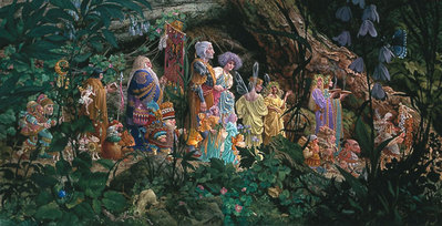 The Royal Processional- Signed By The Artist								 – Canvas Giclee – Limited Edition – 300 S/N – 23 x 45