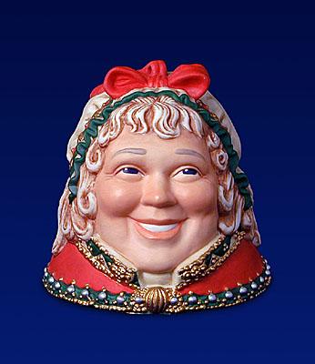 Santa's Belle- SculpturePorcelain – 3-Dimensional – Limited – 3″ High