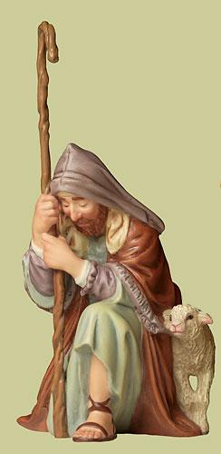 The Shepherd- SculpturePorcelain – 3-Dimensional – Limited – 51/2″ High –