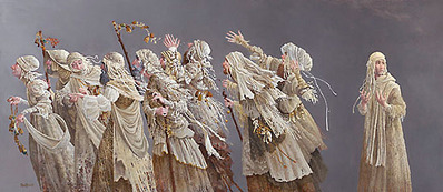 Ten Lepers- Signed By The Artist – CanvasGiclee – Limited Edition – 200S/N – 18x41