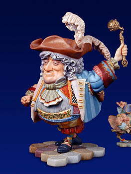 Tweedledum – Sculpture- Sculpture Porcelain – 3-Dimensional – 2500 Limited – 7″ High