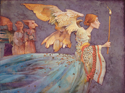 Angel- Signed By The Artist								 – Canvas Giclee – Limited Edition – 50 S/N – 24 x 32