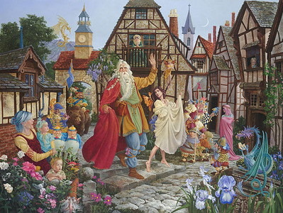 Return Of The Fablemaker- Signed By The Artist – CanvasGiclee – Limited Edition – 25A/P – 18x24