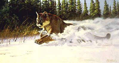 Mountain Rush- Signed By The Artist – PaperLithograph – Limited Edition – 950S/N – 17 5/8x32 3/8