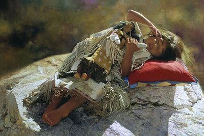Naptime- Signed By The Artist – CanvasGiclee  – Limited Edition  – 75S/N  –  9x13