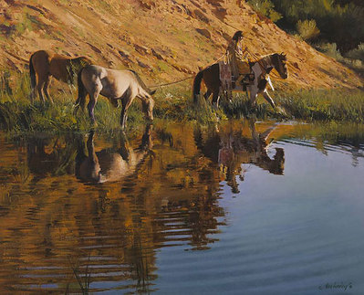 Ripples- Signed By The Artist – CanvasGiclee  – Limited Edition  – 75S/N  –  16x20