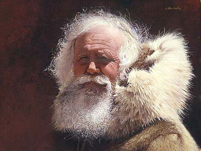 The Trapper- Signed By The Artist – PaperLithograph  – Limited Edition  – 550S/N  –  9x11 1/2