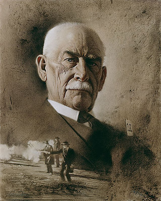 Wyatt Earp: The Last Summer- Signed By The Artist – CanvasGiclee  – Limited Edition  – 250S/N  –  11x9