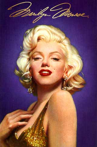 Marilyn Monroe- Signed By The Artist – PaperLithograph – Limited Edition – 2500S/N – 18 1/4x13 1/4 –