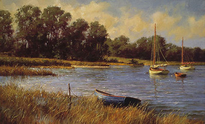 Nantucket Morning- Signed By The Artist – CanvasGiclee – Limited Edition – 100S/N – 18x28