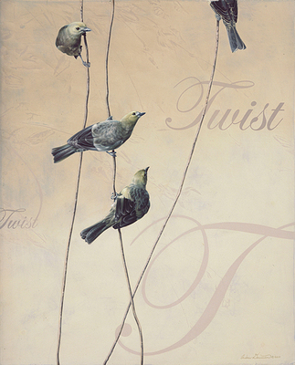 Twist- Signed By The Artist – CanvasGiclee – Limited Edition – 75S/N – 22x18